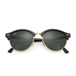 NEW RayBans club round classic sunglasses